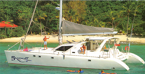 Charter  Cool Change Catamaran